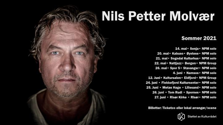 Nils Petter Molvær - konserter sommeren 2021